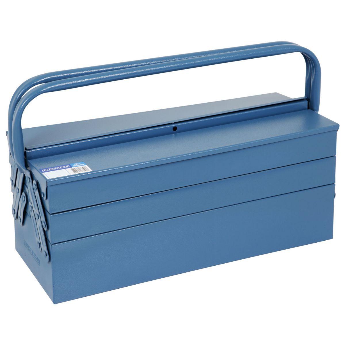 Caixa de Ferramentas com 5 Gavetas Azul 540 - Marcon