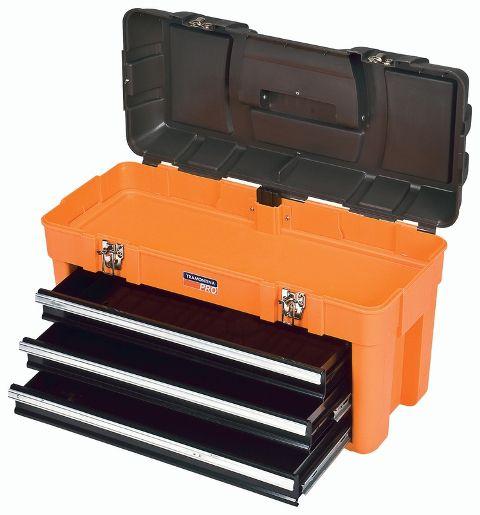 Caixa Plastica P/ Ferramenta Profibox 3 Gav 44941/000 - Tramontina