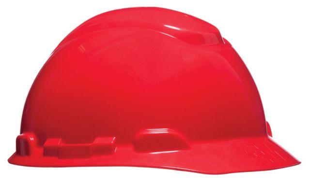 Capacete De Segurança Simples Vermelho H700 - 3M