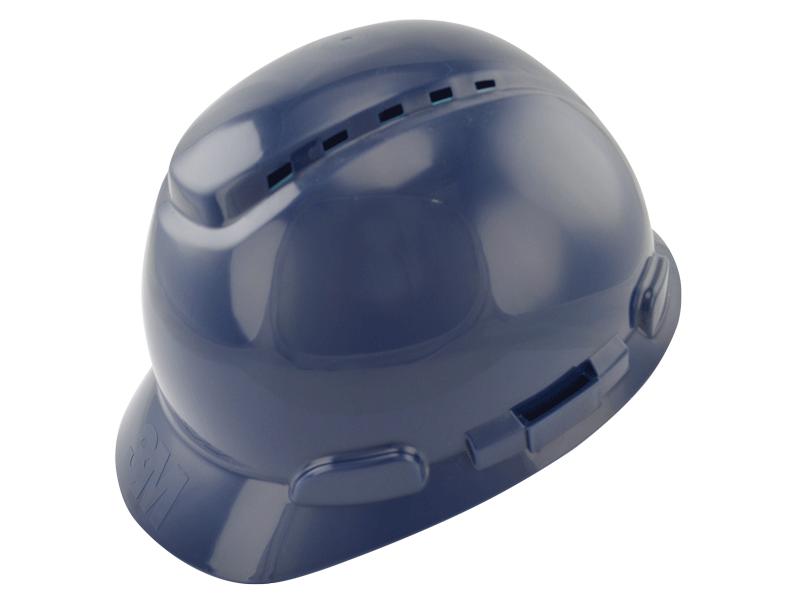 Capacete De Segurança Com Catraca Azul H700 - 3M