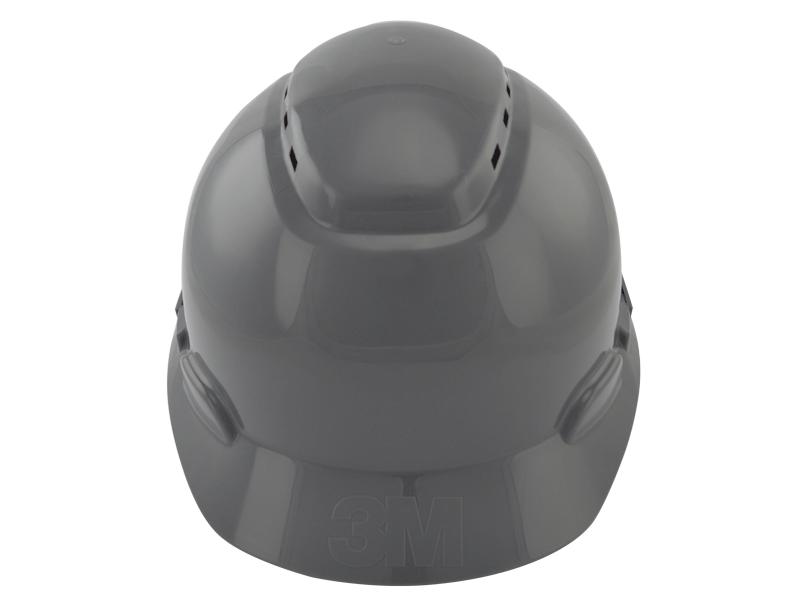 Capacete De Segurança Com Catraca Cinza H700 - 3M