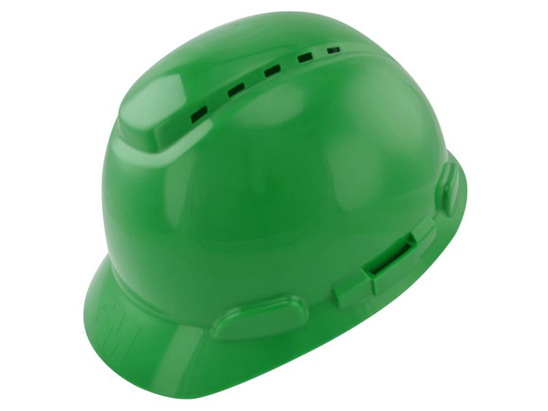 Capacete De Segurança Com Catraca Verde H700 - 3M