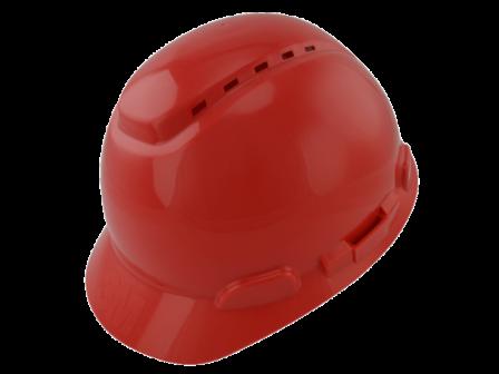 Capacete De Segurança Com Catraca Vermelho H700 - 3M