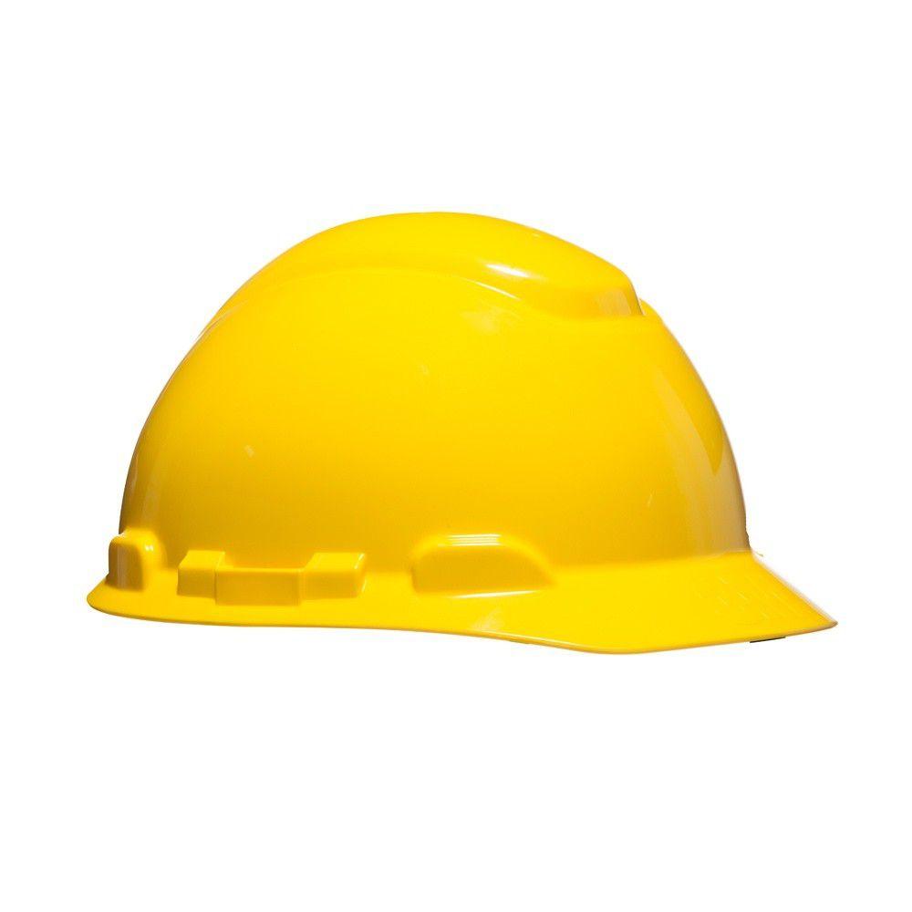 Capacete De Segurança Simples Amarelo H700 - 3M