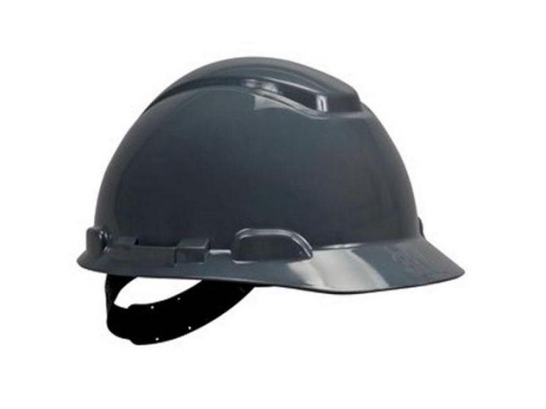Capacete De Segurança Simples Cinza H700 - 3M