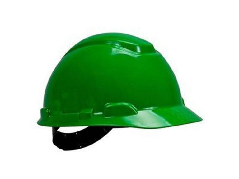 Capacete De Segurança Simples Verde H700 - 3M