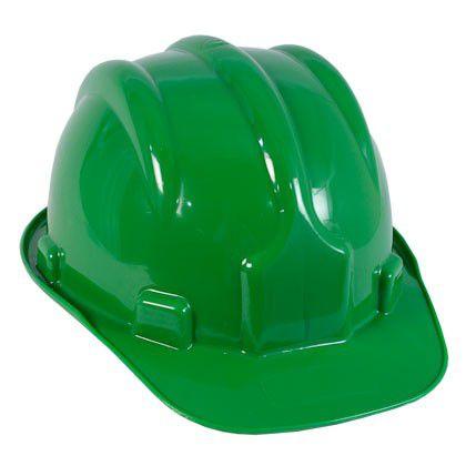 Capacete De Seguranca Verde 8 Garras - KCC