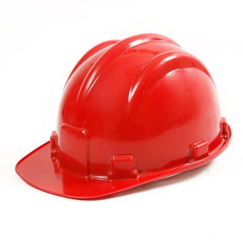 Capacete De Seguranca Vermelho 8 Garras - KCC