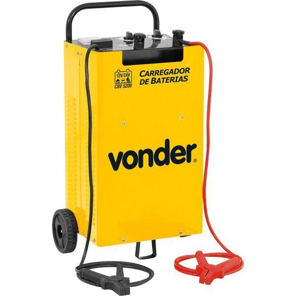Carregador De Bateria 12/24V CBV5200 127/220V - VONDER