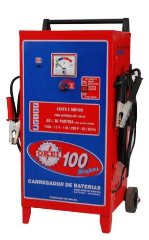 CARREGADOR DE BATERIA CB-100