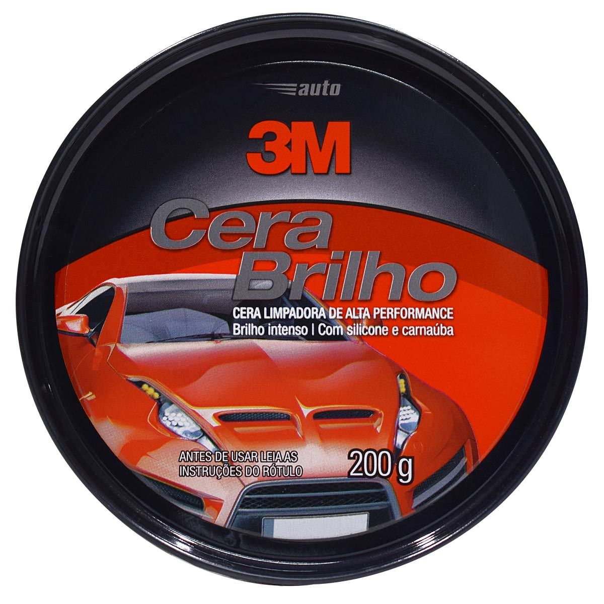 Cera Brilho Automotiva 200gr - 3M