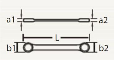 "Chave Combinada c/ Catraca Reversível 1"" 067 463 - ROBUST"