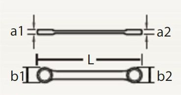 "Chave Combinada c/ Catraca Reversível 7/8"" 067 461 - ROBUST"