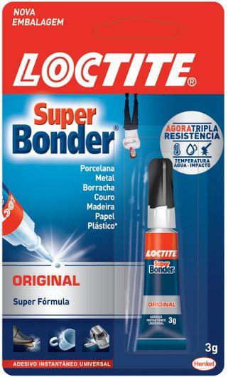 Cola Super Bonder Original 3g ? Loctite