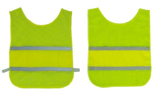 Colete De Segurança Refletivo Verde Limão CG01 - CARBOGRAFITE