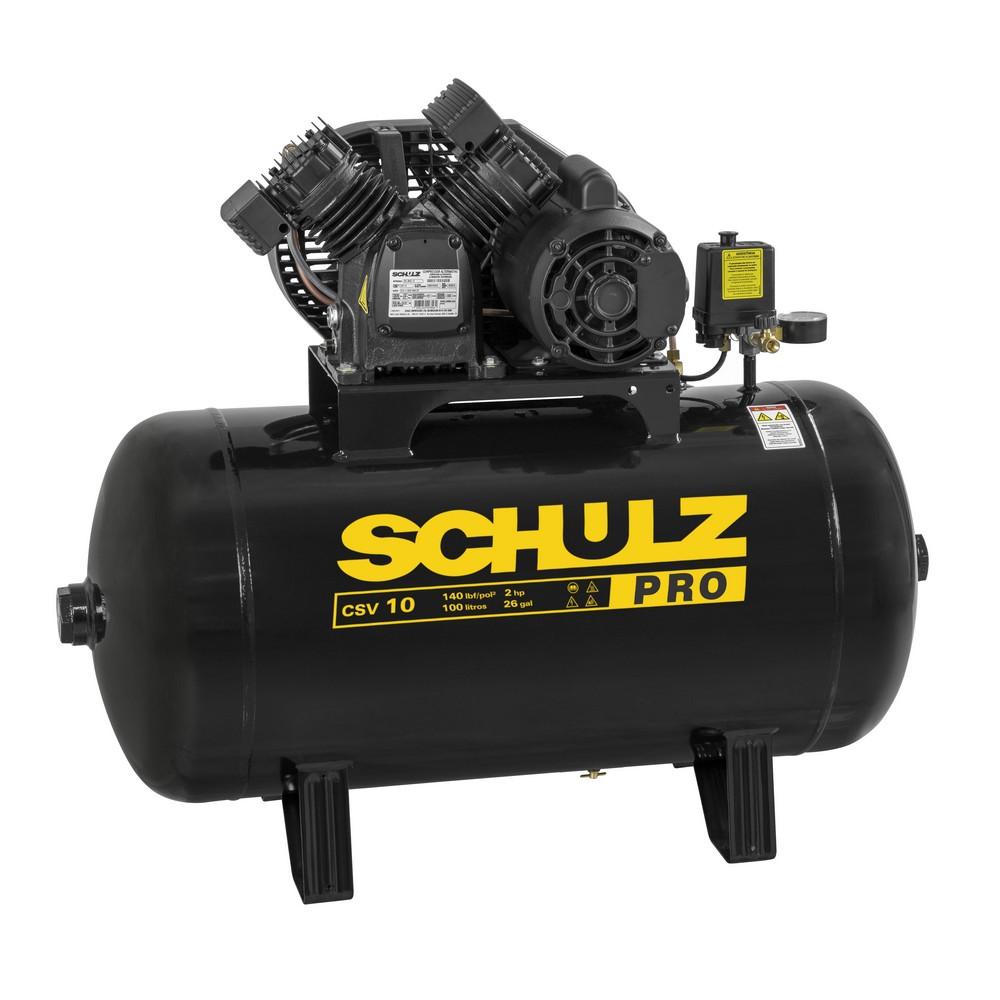 Compressor 10/100L Mono 140LBS 110V CSV PRO (2-II) - SCHULZ