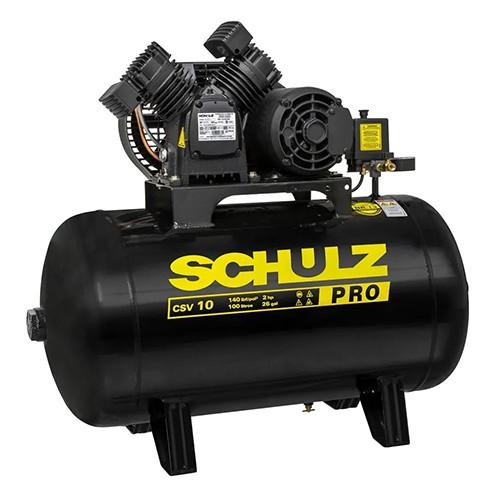 Compressor 10/100L Mono 140LBS 220V CSV PRO (2-II) - SCHULZ