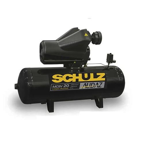 Compressor 20/150L MCSV 175LBS Audaz Trifásico 220/380V (5-IV) Schulz