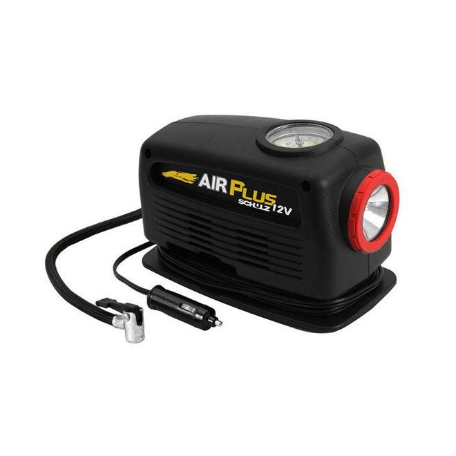 Compressor De Ar Com Lanterna 12V Air Plus - Schulz
