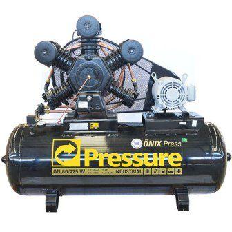 Compressor de Ar Ônix 425L Trif IP21 ONIX60/425 - Pressure