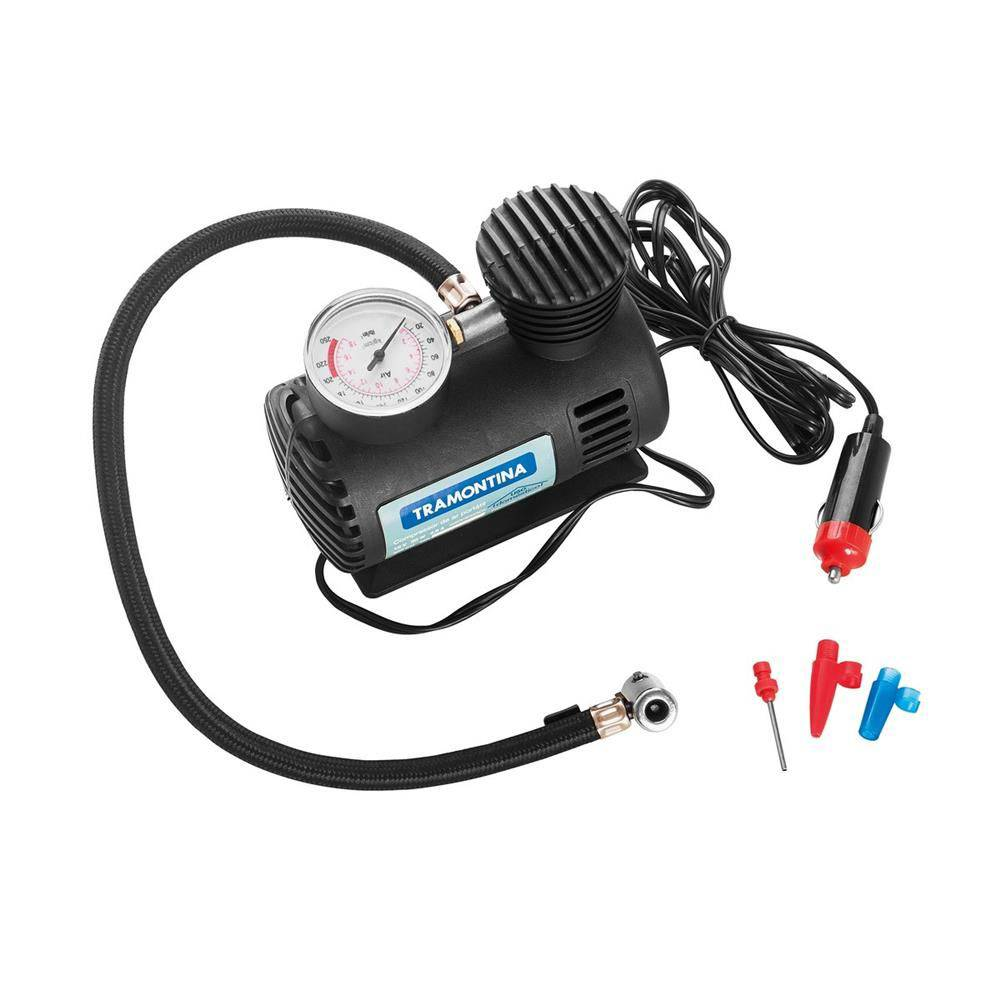 Compressor De Ar Portatil 12V/50W 42330/001 - TRAMONTINA