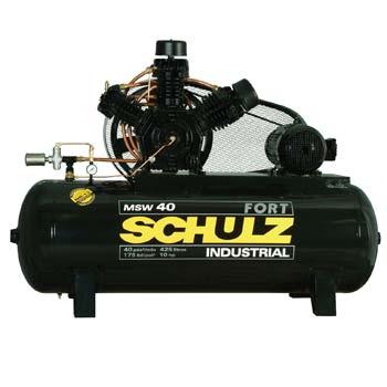 Compressor de Ar Trifásico 40 Pés 427L MSW40/425 - Schulz