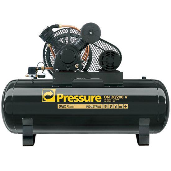 Compressor Onix 20 Pés 200 L. 175 Lbs Trifásico -  PRESSURE