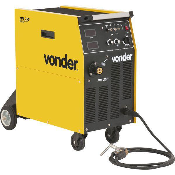 Conjunto de Solda 250 Amperes Trifásico MM250 - Vonder