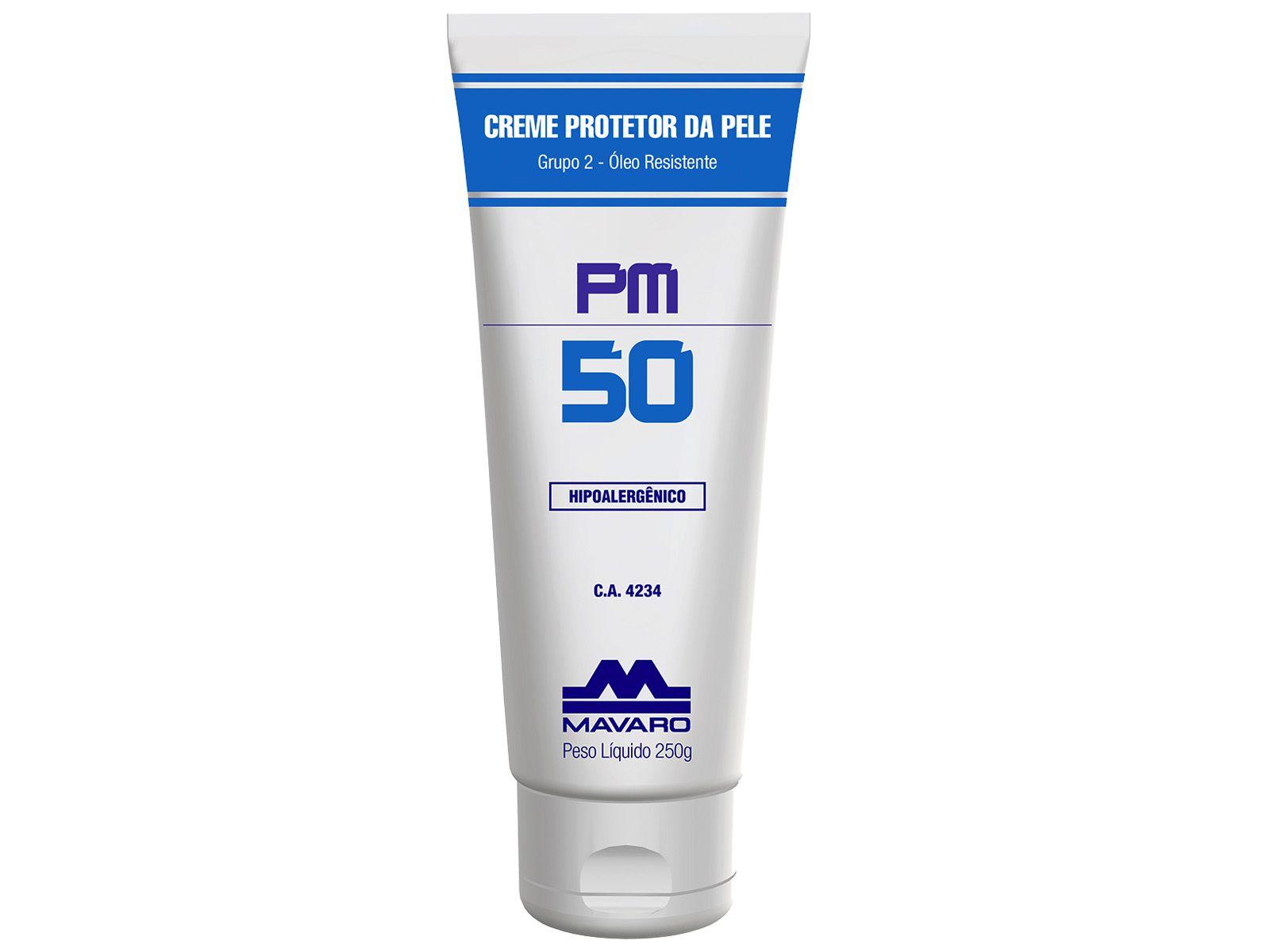 Creme de Proteção PM50 150gr - MAVARO