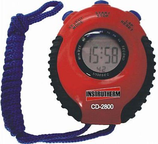 Cronômetro Digital Portátil CD-2800 - INSTRUTHERM