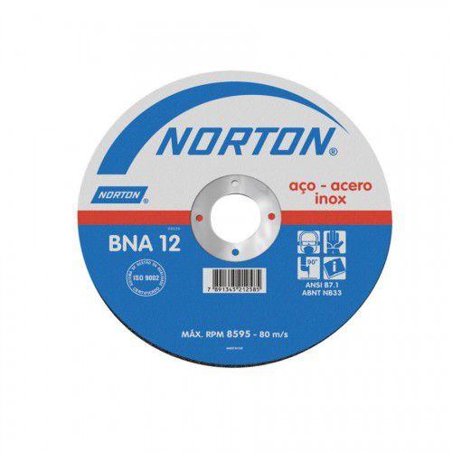Disco De Corte 115 x 1,6 x 22,23 BNA12 - Norton
