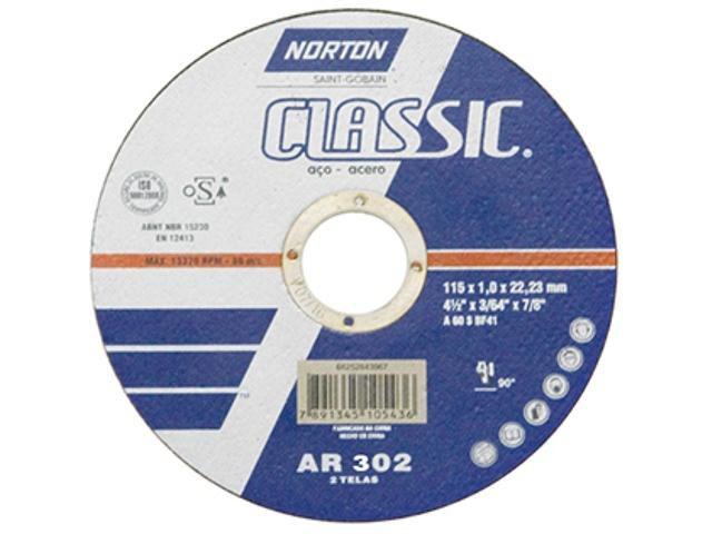 Disco de Corte AR302 300,0x3,2x25,4mm - Norton