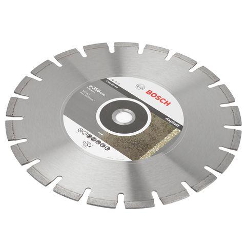 Disco de Corte Diamantado P/ Asfalto 350Mm X 25,4Mm - Bosch