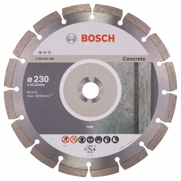 Disco de Corte Diamantado P/ Concreto 230mm - Bosch REF