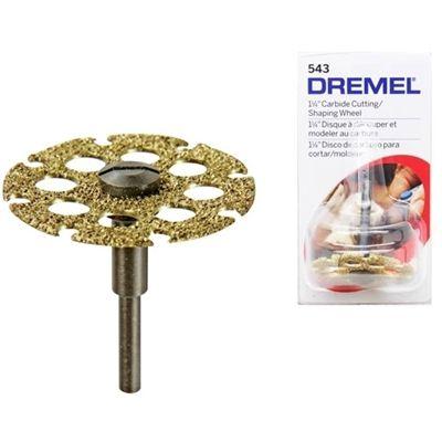 Disco de Corte e Modelagem Carb. de Tungstênio 543 - DREMEL