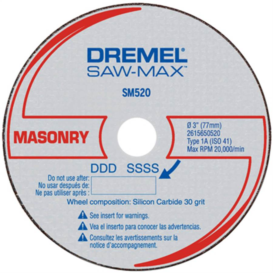Disco de Corte Para Alvenaria SM520 - DREMEL
