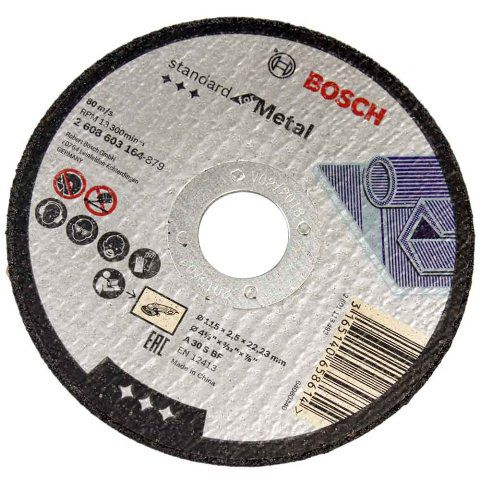 Disco De Corte Para Metal De 115mm - Bosch