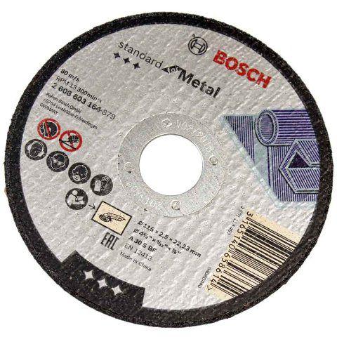 Disco De Corte Para Metal De 115mm - Bosch