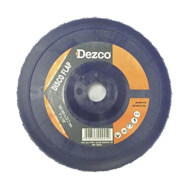 "Disco De Lixa Flap 7"" X 7/8""  GR60 FDPL18060 - Dezco"