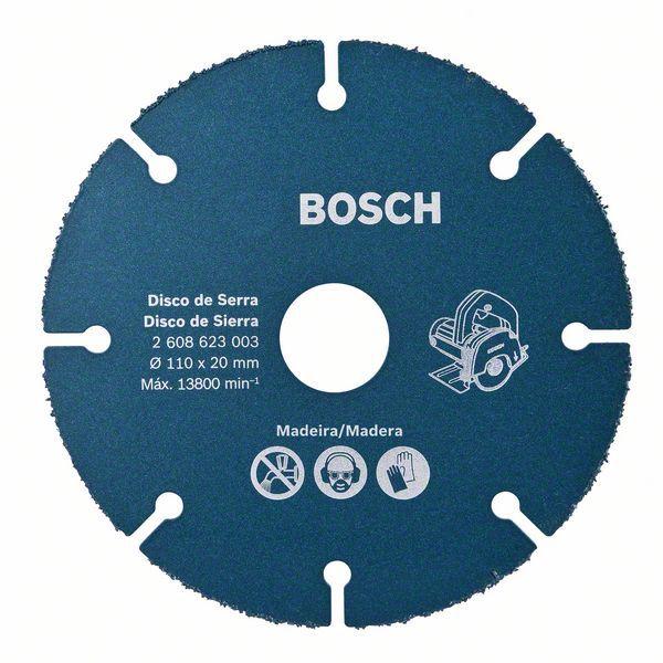 Disco De Serra Mármore 110mm Para Madeira - Bosch