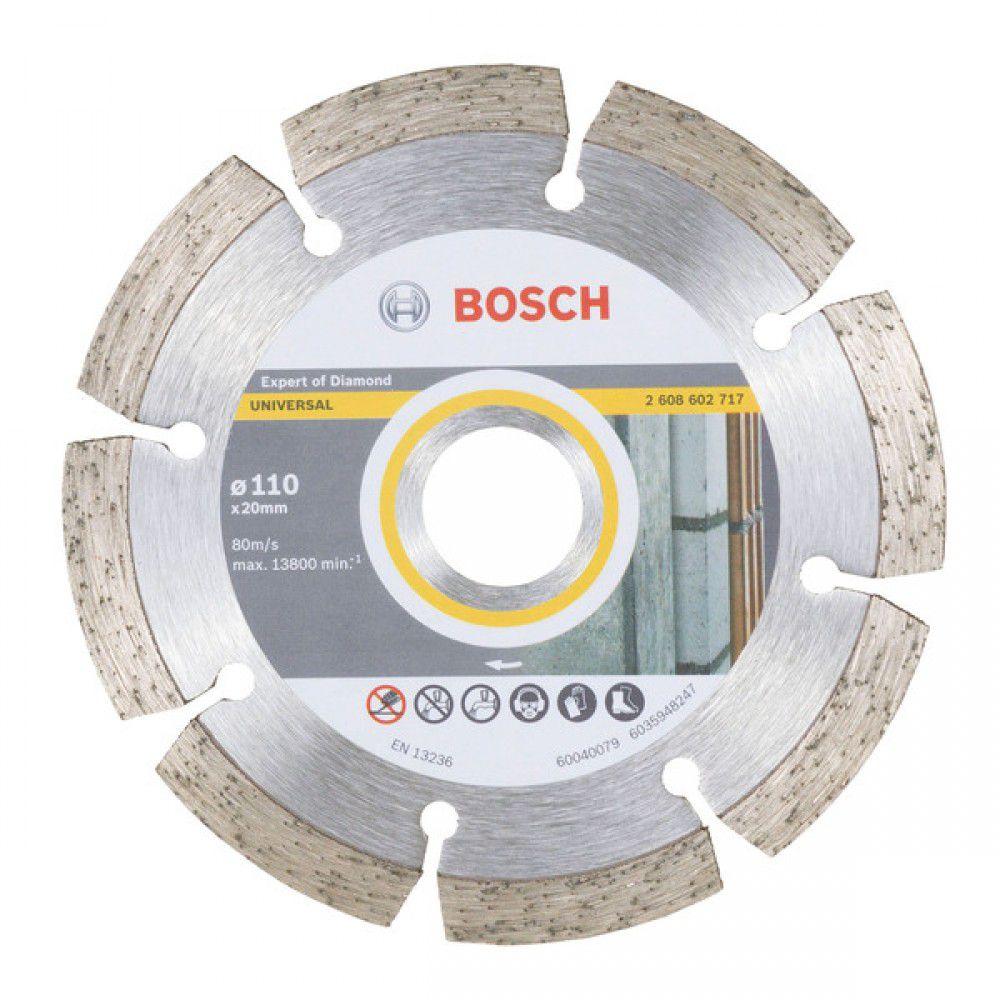 Disco Diamantado Expert P/ Concreto 110mm - Bosch