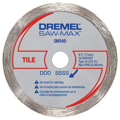 Disco Diamantado P/ Azulejo SM540 - DREMEL