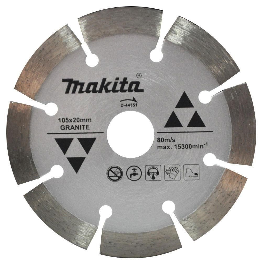 Disco Diamantado P/ Granito 105mm D-44351 - Makita