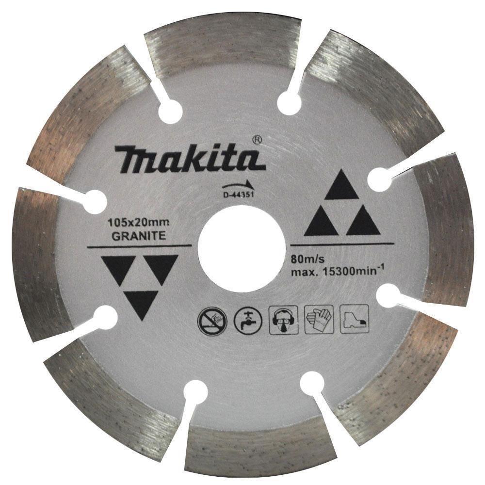 Disco Diamantado P/ Granito 105mm D-44351 - Makita