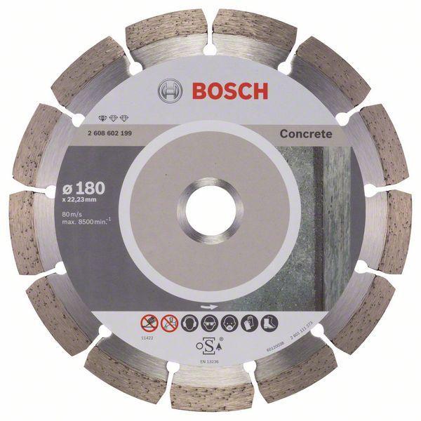 Disco Diamantado Segmentado P/ Concreto 180mm - Bosch