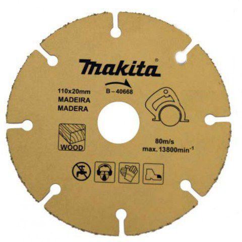 Disco Diamantando Para Madeira 10mm - Makita