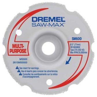 Disco Multicorte p/ Corte Nivelado SM600 - DREMEL