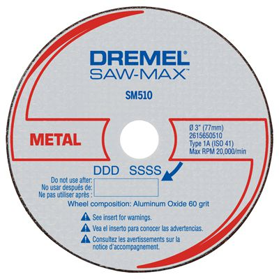 Disco Para Metais SM510 - DREMEL