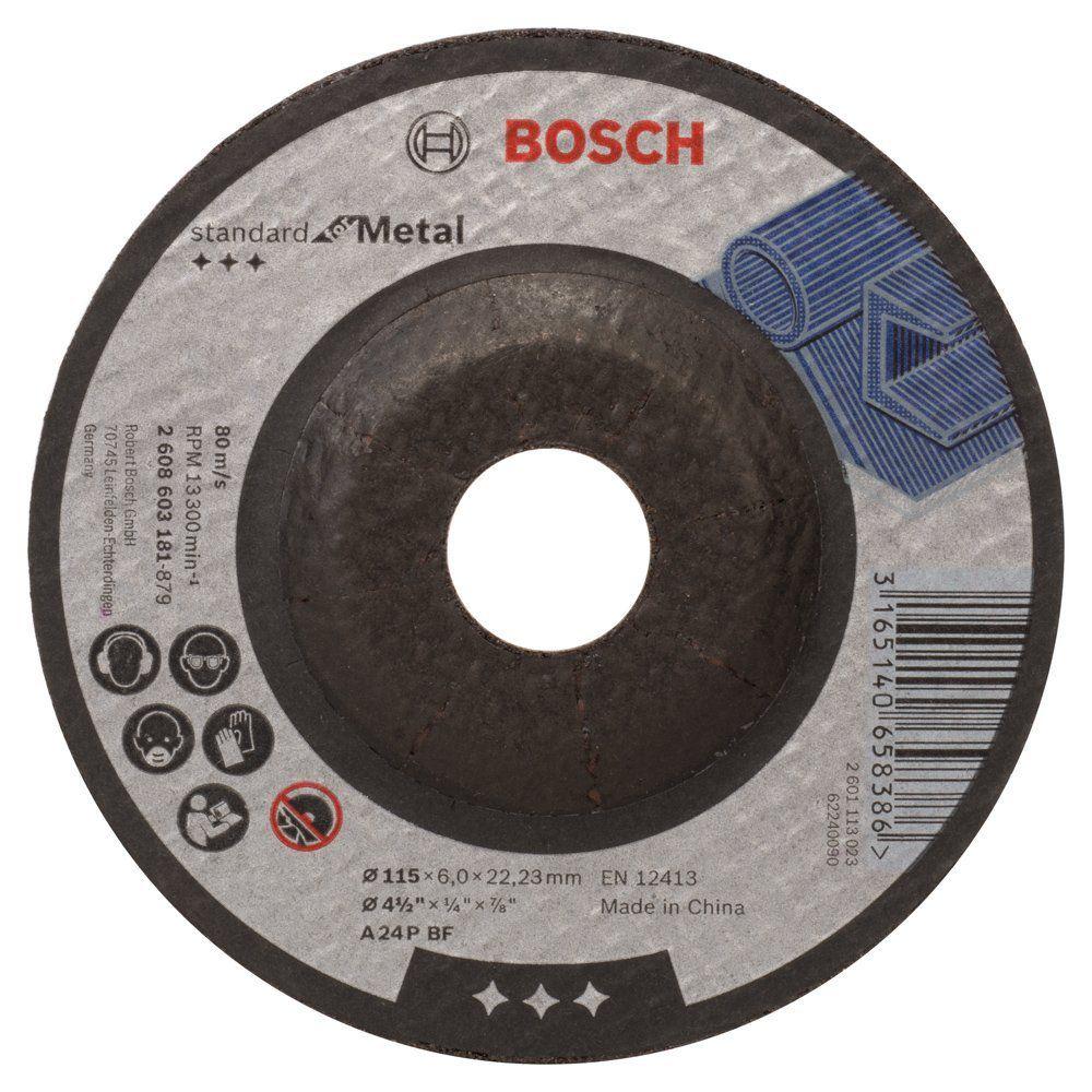 Discos De Desbaste Standard 4.1/2 - Bosch