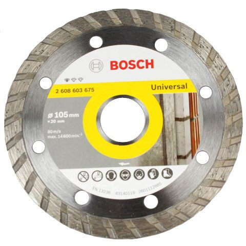 Discos Diamantado Standard Turbo Universal 105mm - Bosch